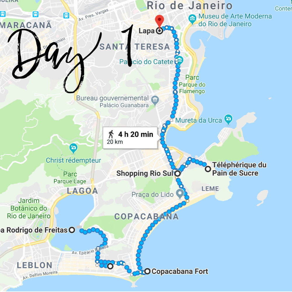 Do Not Forget To Kiss - Brésil : 3 jour à Rio de Janeiro - Day 1- voyage, tips, itinéraire, trip, around the world, advise, bon plan, holidays