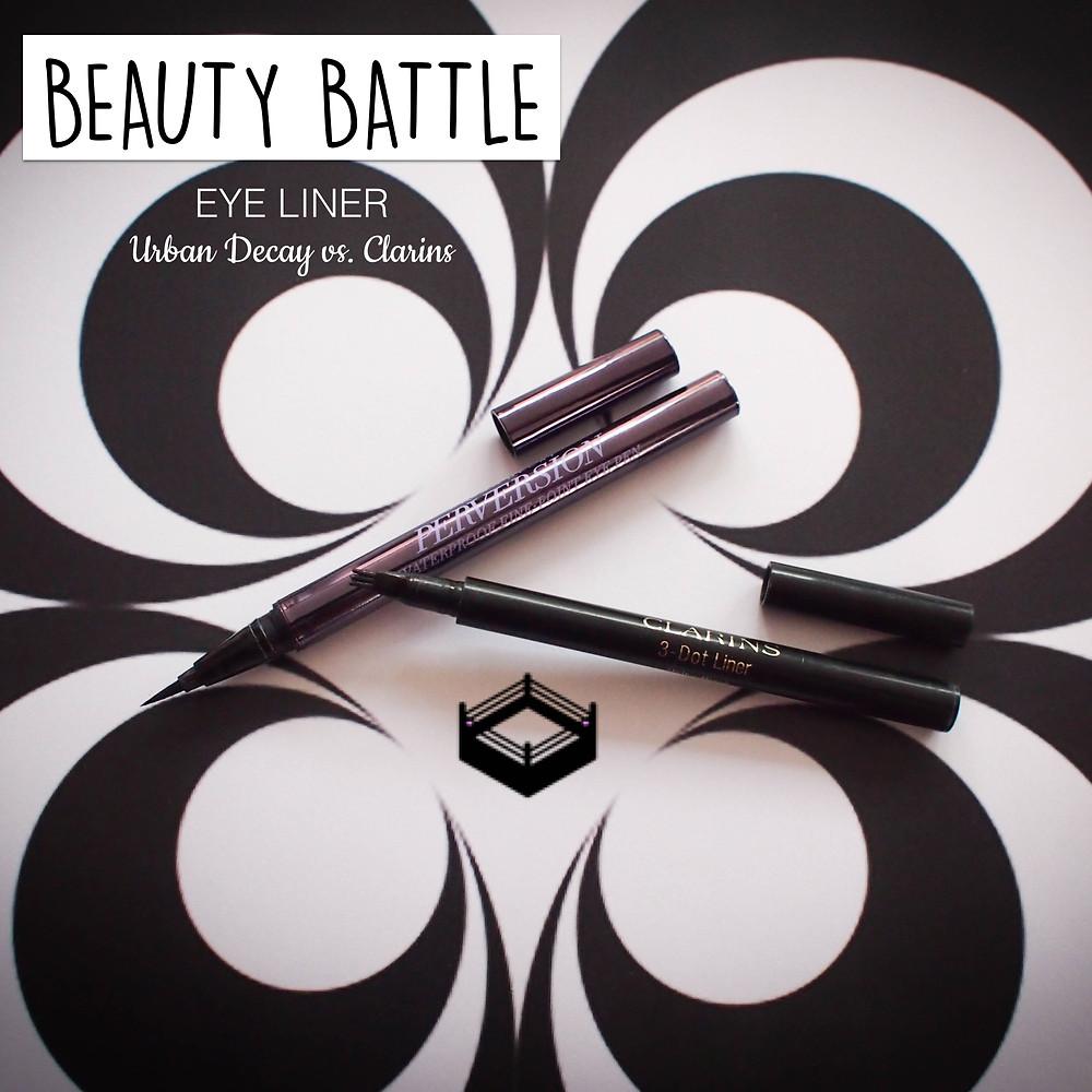 Beauty Battle Eye Liner Urband Decay vs. Clarins