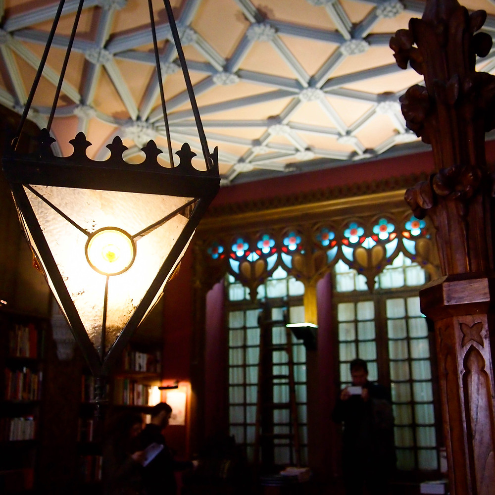 Bibliothèque Harry Potter Porto