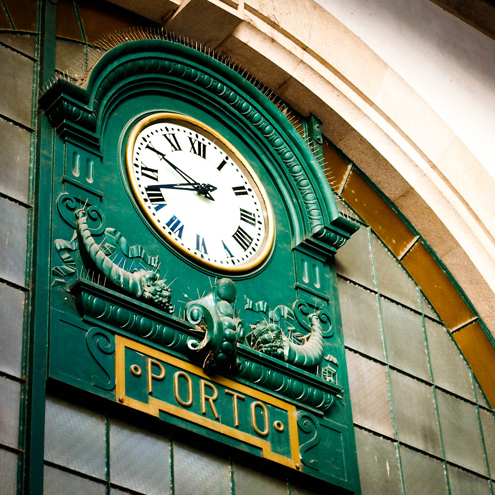 Horloge porto