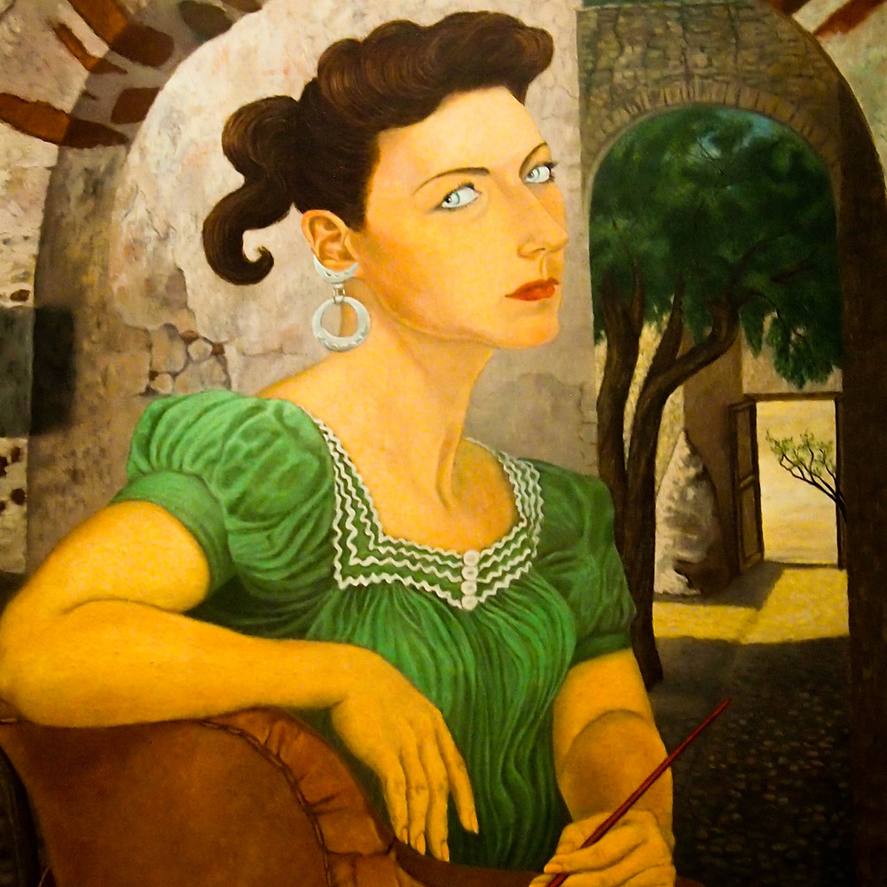 Autoportrait - Olga Costa - 1947