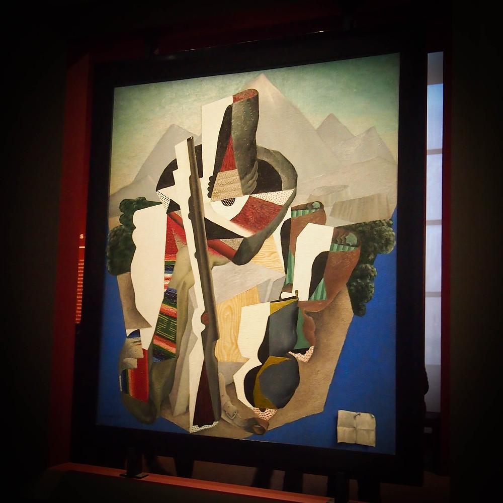 Peinture de l'exposition Mexique au Grand Palais