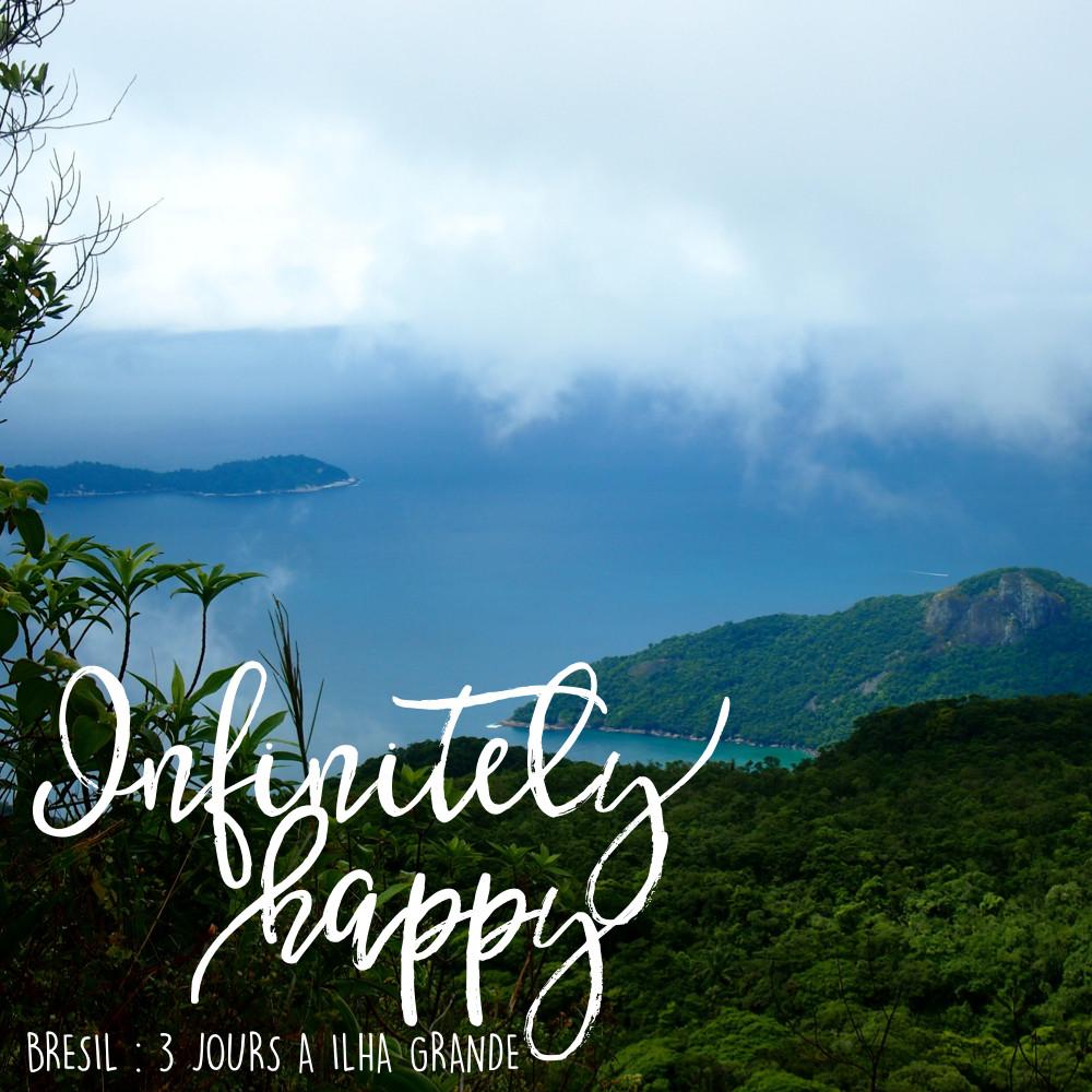 Vu du sommet du Pic du Perroquet d'Ilha Grande