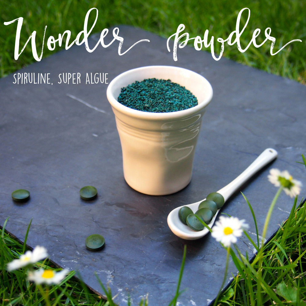 Do Not Forget To Kiss - Good To Know - Wonder Powder - Spiruline, super algue - super food, healthy, bienfaits, bien-être