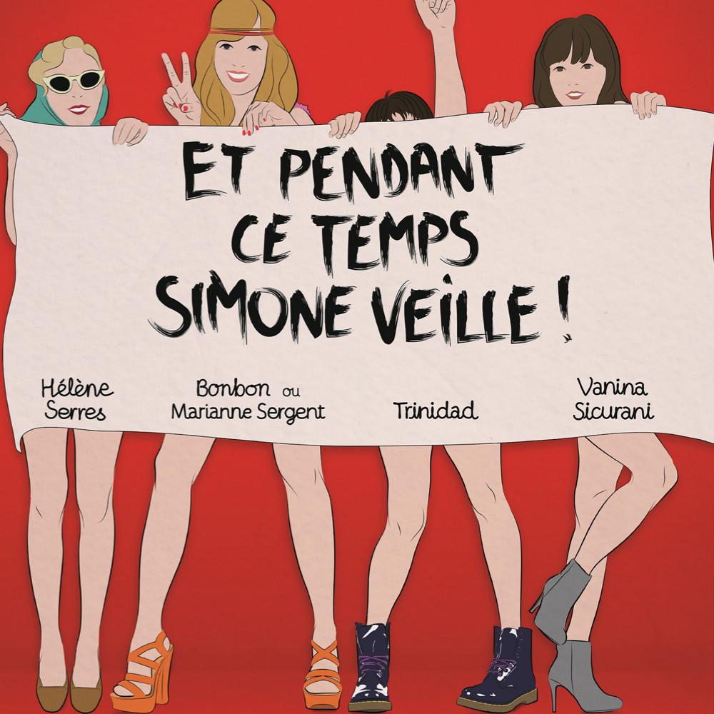Do not Forget TO Kiss - Et Pendant Ce Temps, Simone Veille - Theéatre, rire, humour, pièce, spectacle, show