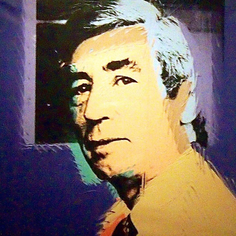 Portrait d'Hergé