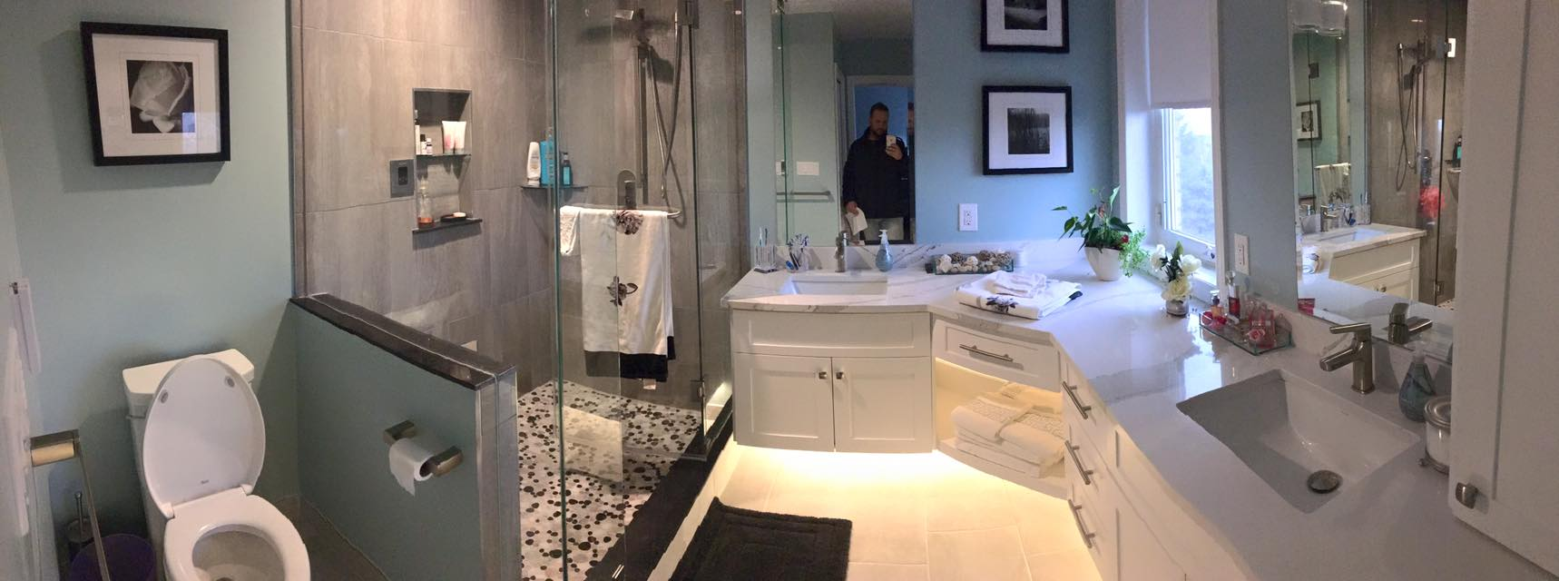 Wall Hung Vanity Washroom