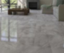 tile in living room