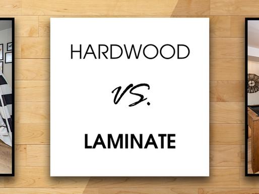Choosing Between Hardwood & Laminate