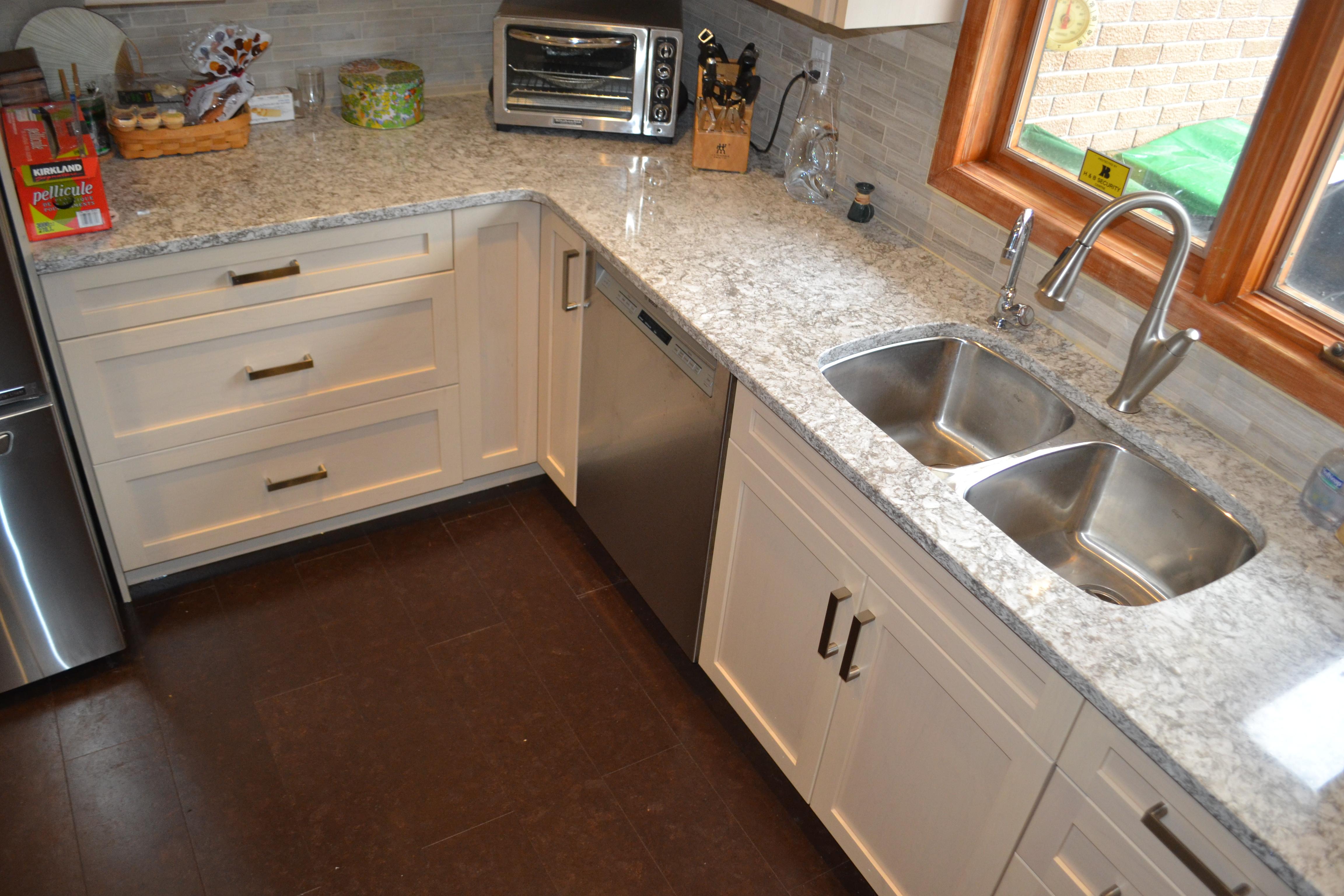 Torly's Cork Flooring in Kitchen