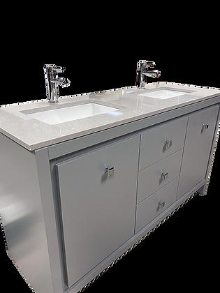 Bathroom Vanity Cabinet Set, Grey