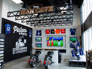 Showroom Man Cave