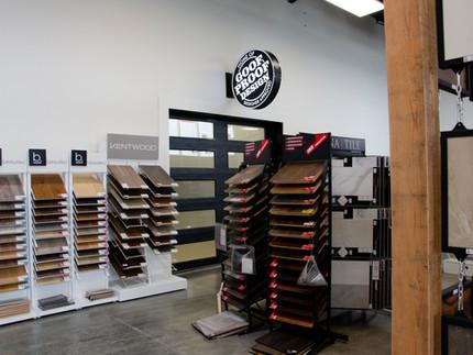Flooring Stand Display