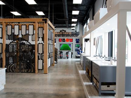 Design Palace Showrrom Hallway