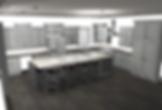 3D render of kitchen renovation