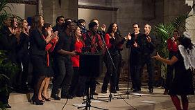 L'atelier Gospel de Fitiavana en concert