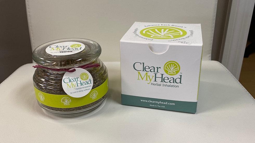 Clear My Head Herbal Inhalation Jar