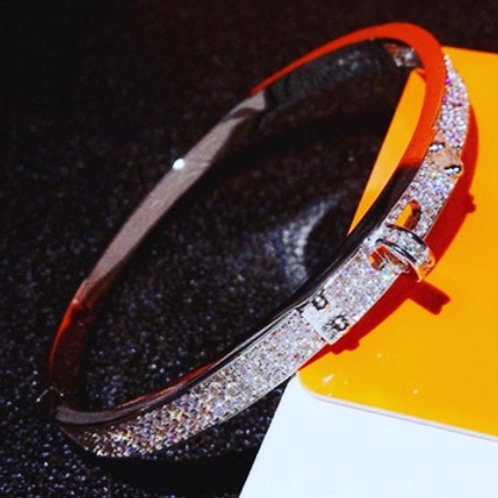 Couture Bling Belt Bangle
