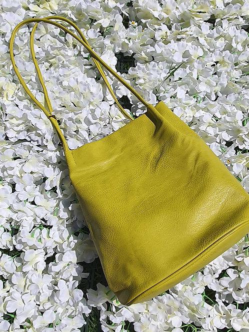 Bucket Bag Lime