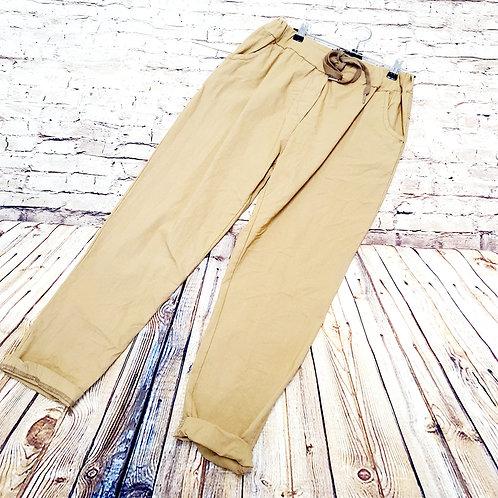 Magic Trousers Plain Size 2 Caramel