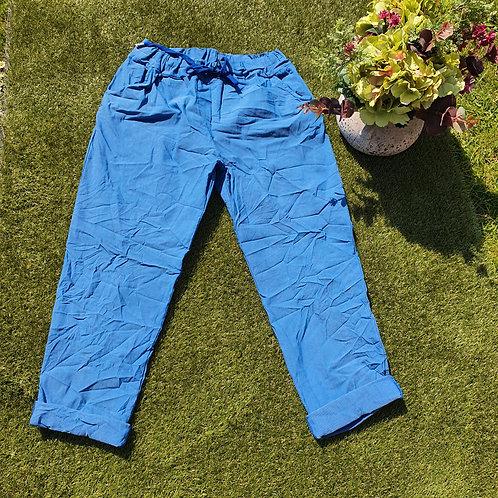 Magic Trousers Plain Size 2 Petrol Blue