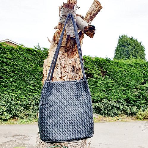Georigia Bucket Bag Black