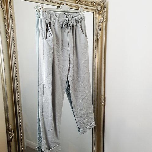 Magic Trousers Plain Size 2 Light Grey