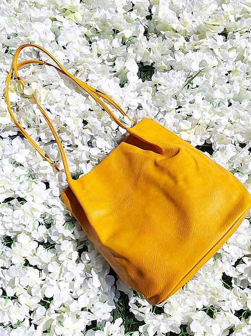 Bucket Bag Mustard