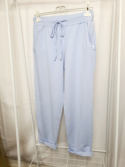 Tilly   Plain Joggers  Light Blue Size 1