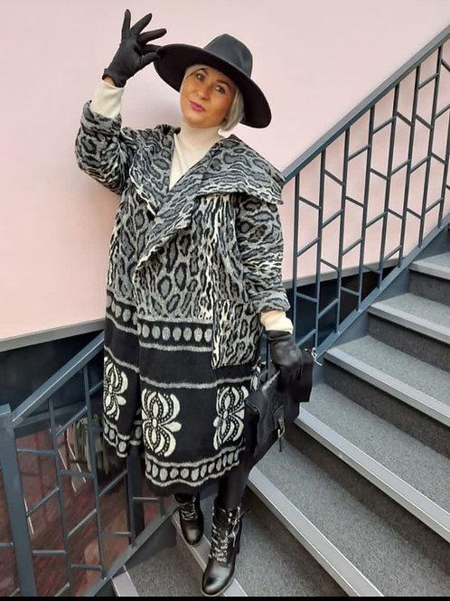 Deanna Leopard Coat
