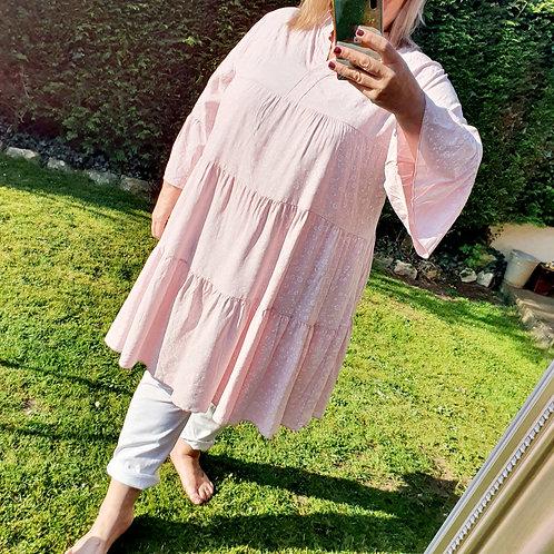 Sophia Smock Dress Blush Pink