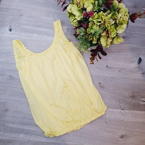 Belinda Plain Vest Lemon
