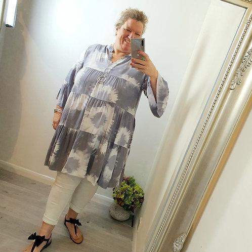 Jessie Boho Dress Grey