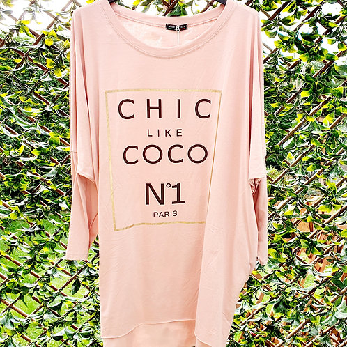 Chic Coco Top Pink