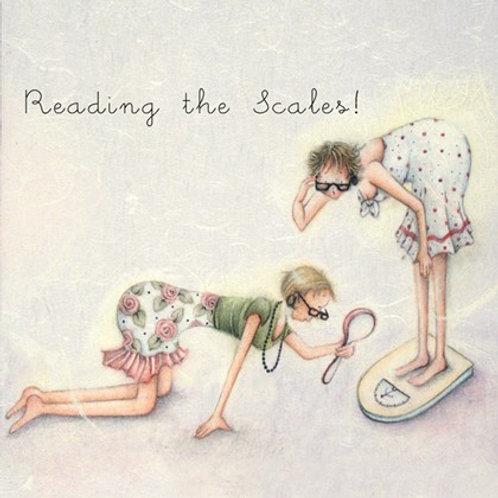 Reading The Scales Bernie Parker Designs