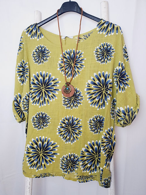 Chrissy Top Lime