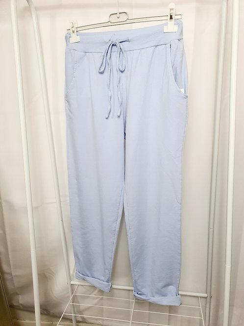 Tilly Plain Joggers  Light Blue Size 2