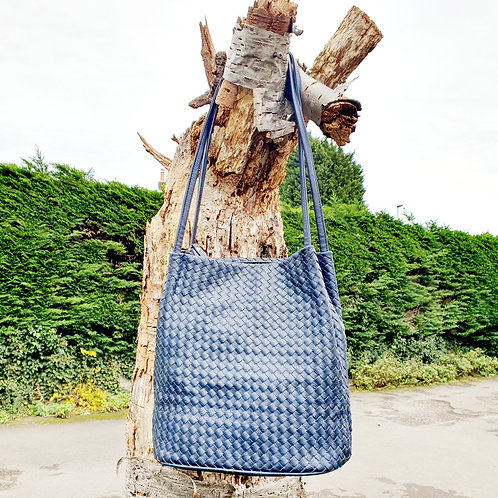 Georigia Bucket Bag Navy