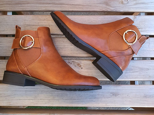 Diana Chelsea Boots Tan