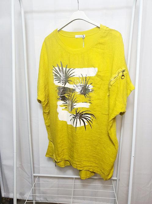 Palm Foil Top Mustard