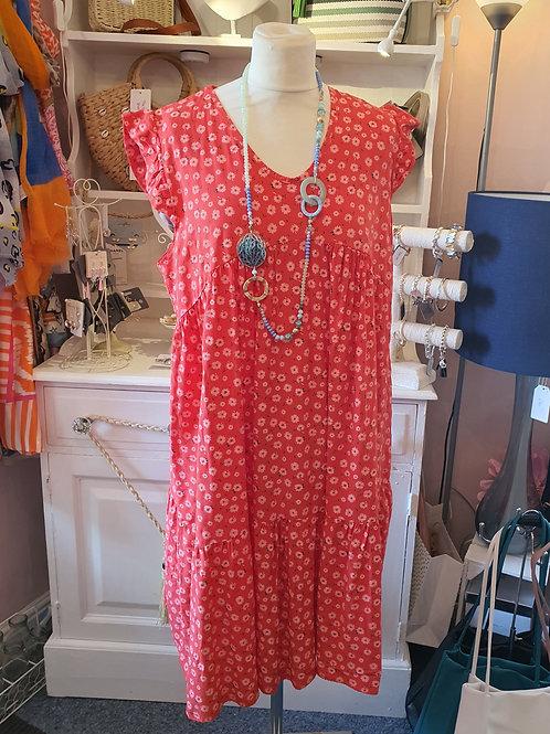 Kerrie Summer Dress Red
