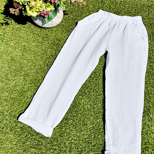 Sorrenta  Trousers White
