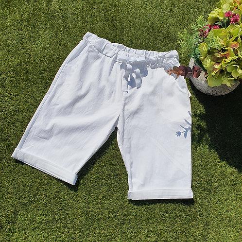 Magic Shorts Size  2 White