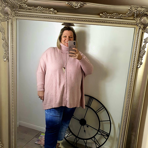 Suzy Spring Polo Light Pink