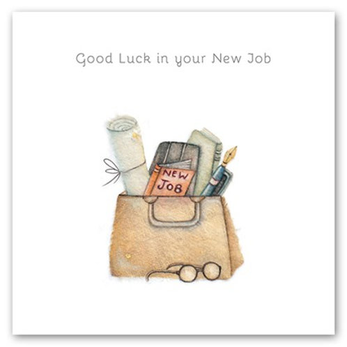 Good Luck in your New Job Bernie Parker Designs