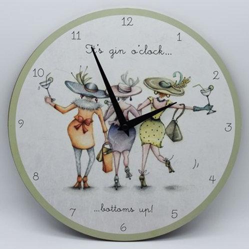 Its Gin O'Clock Bernie Parker Design