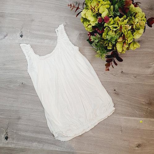Belinda Plain Vest White