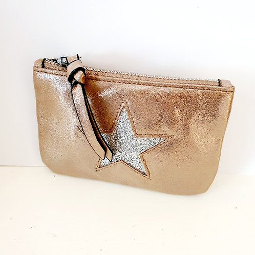 Star Metallic Purse
