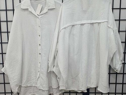 Julia buttoned Shirt White