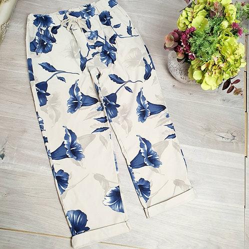 Magic Trousers Size 2 Floral Mocha